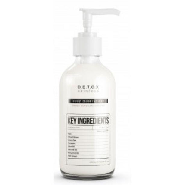 Oferta de Detox Skinfood Body Moisturizer Hidratante Corporal por 3,99€