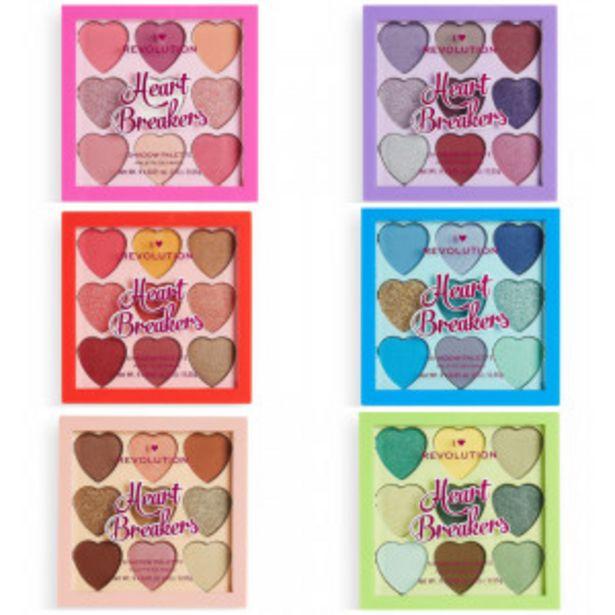 Oferta de Paletas de sombras Heartbreakers por 3,99€