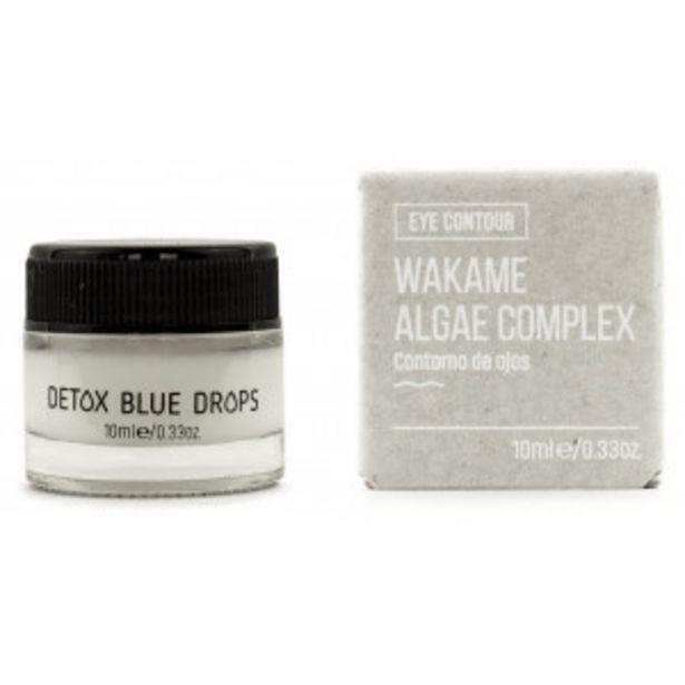 Oferta de Detox Blue Drops Crema Contorno de Ojos por 6,95€