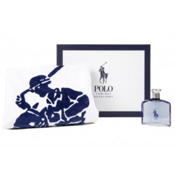 Oferta de Estuche Polo Ralph Lauren Ultra Blue EDT por 54,95€