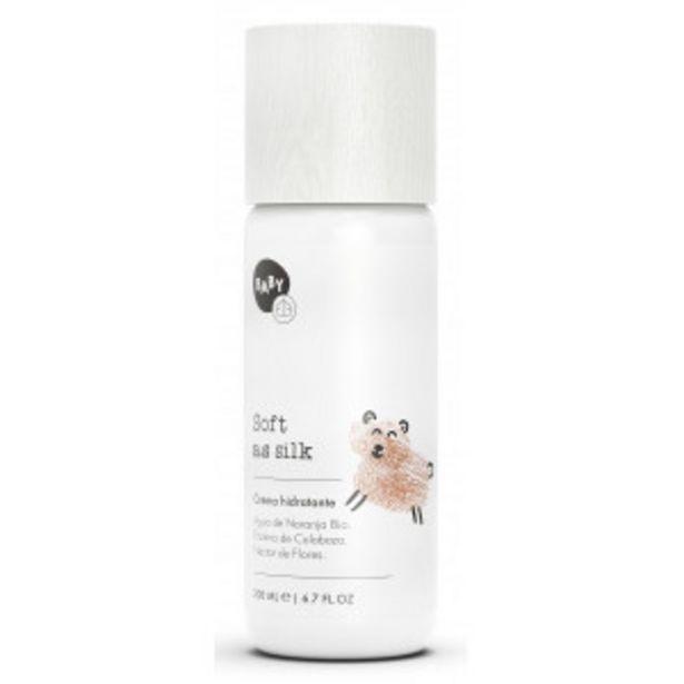 Oferta de Crema Hidratante para Bebé Soft as Silk por 9,95€