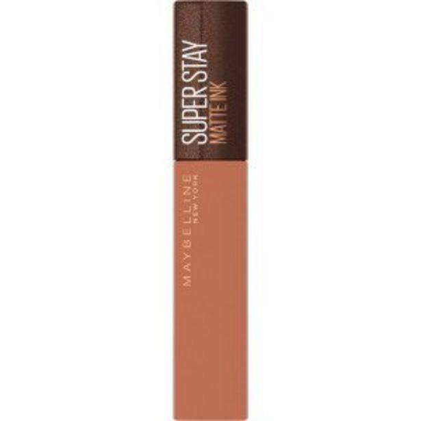 Oferta de SuperStay Matte Ink Coffee Edition Labial... por 8,5€