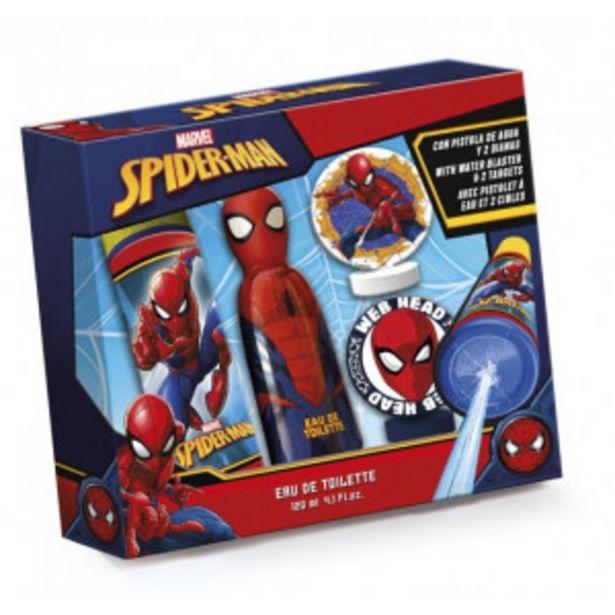 Oferta de Estuche Infantil EDT Spiderman por 8,99€
