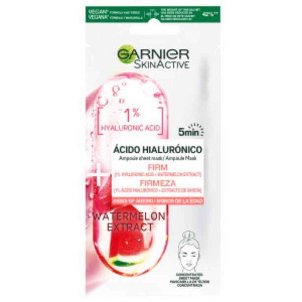 Oferta de Mascarilla facial reafirmante Skin Active Ácido... por 2,44€