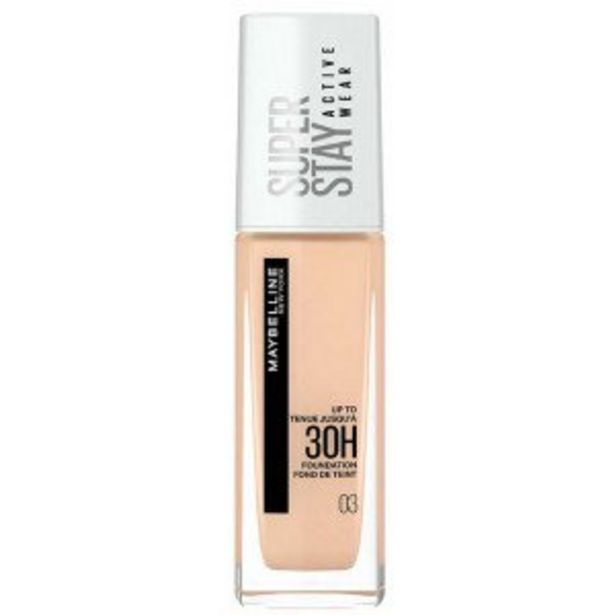 Oferta de SuperStay 30H Active Wear Base de Maquillaje por 9,71€