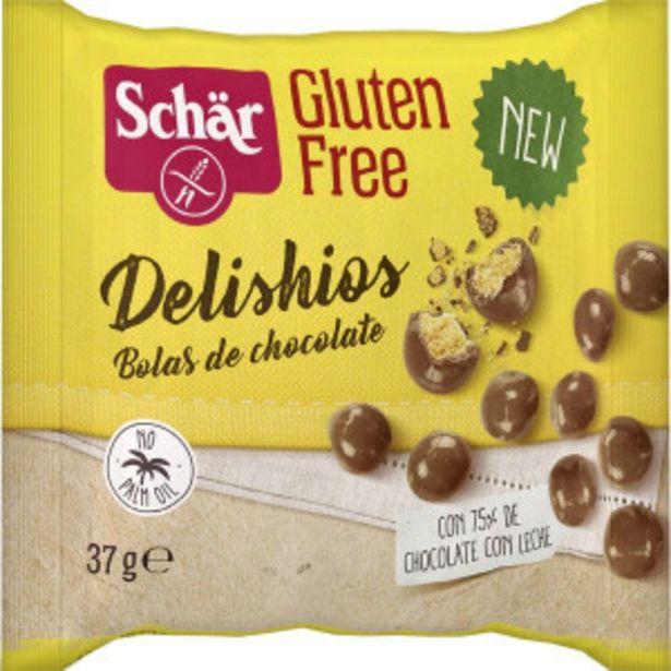 Oferta de Dr Schär Delishios Bolas de Chocolate con Leche sin Gluten por 0,81€