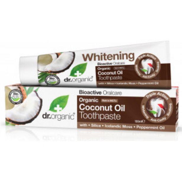 Oferta de Coconut Oil Dentífrico Blanqueador por 4,16€