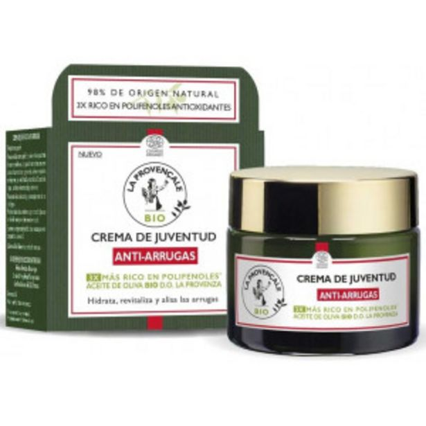 Oferta de Crema Antiarrugas con Aceite de Oliva Bio por 13,35€