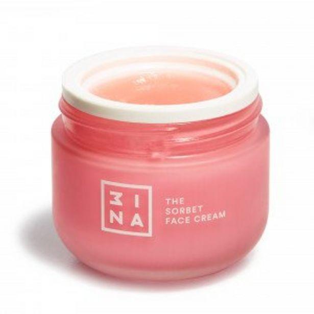 Oferta de 3ina Crema Hidratante Facial en Textura Sorbet The Sorbet Face Cream por 22,95€