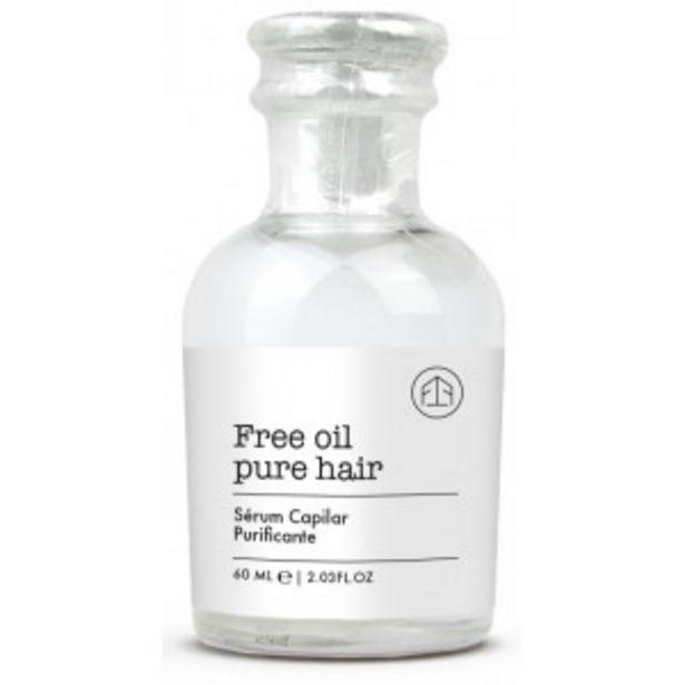 Oferta de Free Oil Pure Hair Sérum Capilar Purificante por 7,95€