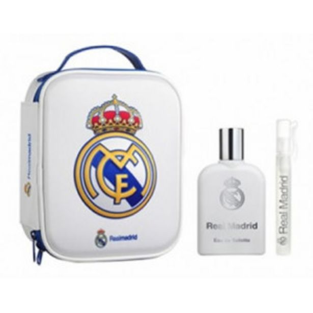 Oferta de Real Madrid Neceser Real Madrid EDT por 11,9€