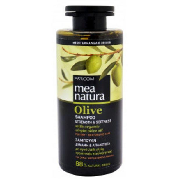 Oferta de Mea Natura Olive Champú para Cabellos Secos por 2,99€