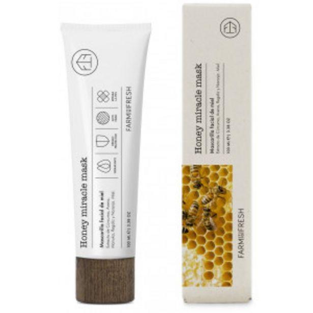 Oferta de Mascarilla Facial de Miel - Honey Miracle... por 9,95€