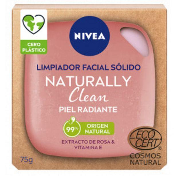 Oferta de Naturally Clean Limpiador Facial Sólido Piel Radiante por 4,4€