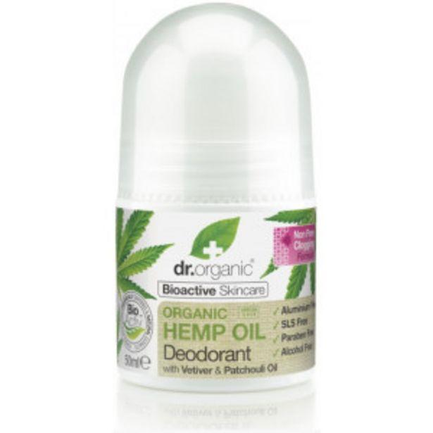 Oferta de Hemp Oil Desodorante Roll On por 5,94€