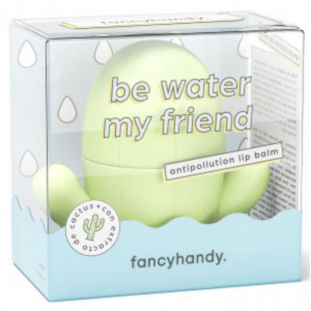 Oferta de Fancy Handy Bálsamo Labial Antipolución Be Water My Friend por 2,99€