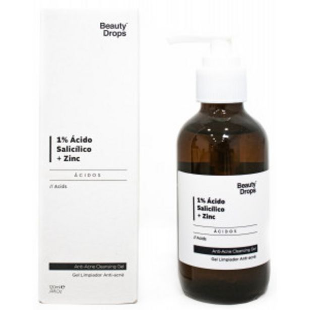 Oferta de Beauty Drops Ácido Salicílico 1% + Zinc por 7,95€