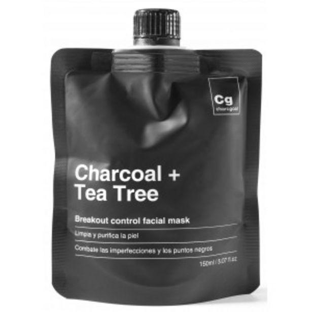 Oferta de Charcoal + Tea Tree Mascarilla Facial por 7,95€