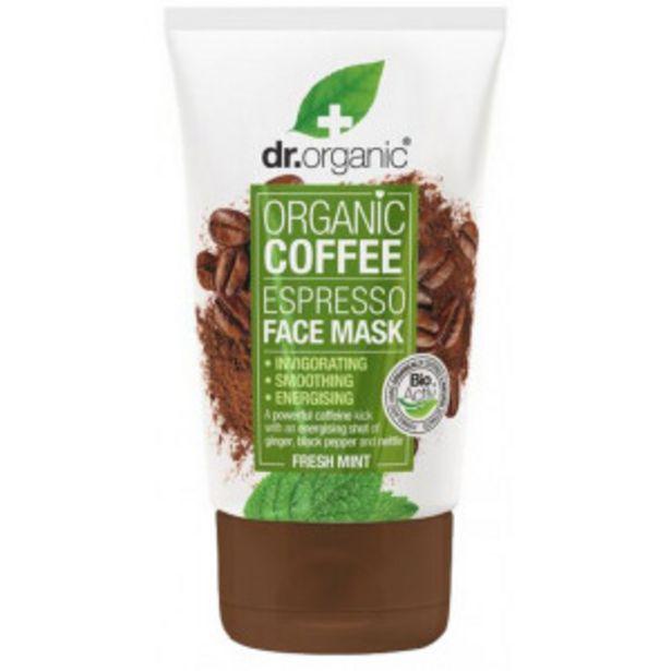 Oferta de Mascarilla Facial Cafeína y Menta por 6,26€