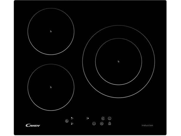 Oferta de Placa de Inducción CANDY CI 630 C/1 B (Caja Abierta - Eléctrica - 59 cm - Negro) por 305,97€