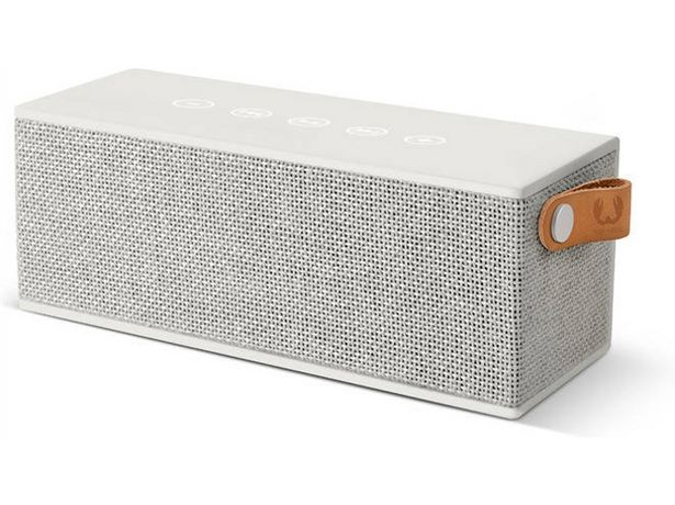 Oferta de Altavoz Bluetooth FRESH & REBEL Brick CL (Caja Abierta - Gris - 12 W - Autonomía: 20 h) por 47,97€