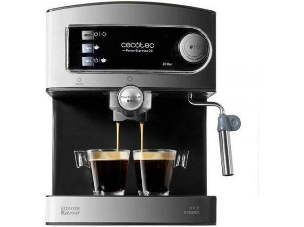 Oferta de Cafetera CECOTEC Power Espresso 20 (Caja Abierta - 20 bar - Café molido y en monodosis) por 59,97€