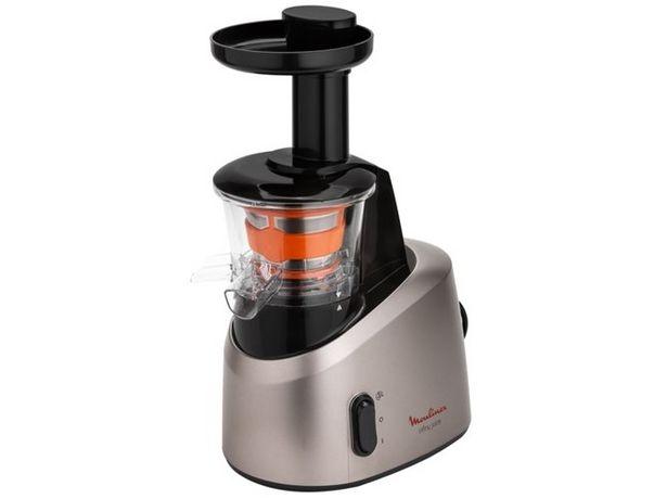 Oferta de Licuadora Slow Juicer MOULINEX ZU255B Infyny Juice  (Caja Abierta - 200 W) por 134,97€