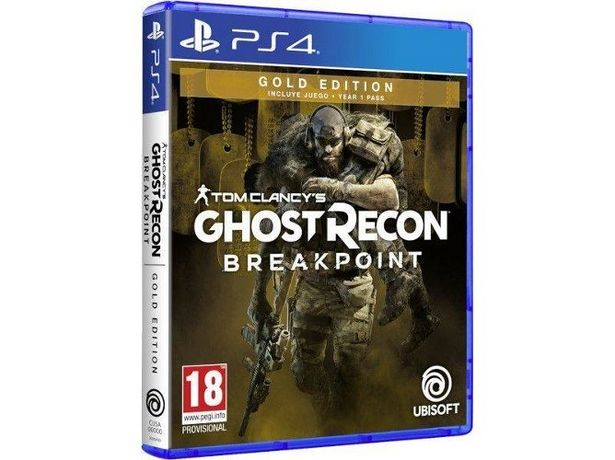 Oferta de Juego PS4 Tom Clancy's Ghost Recon Breakpoint: Gold Edition (M18) por 29,99€