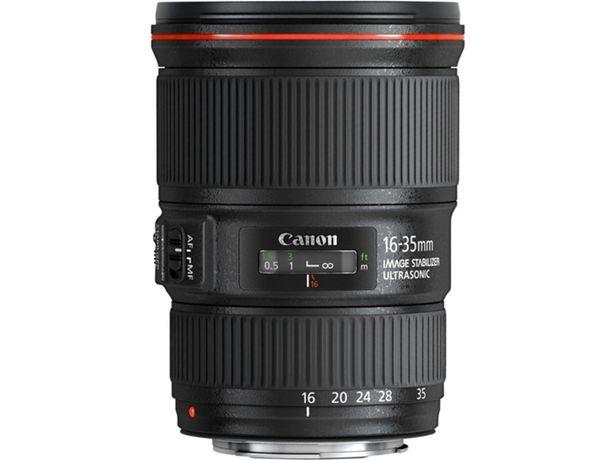 Oferta de Objetivo CANON Ef 16-35 4L Is Usm (Encaje: Canon EF - Apertura: f/4 - f/22) por 1187,99€