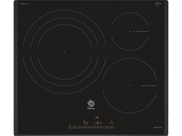 Oferta de Placa de Inducción BALAY 3EB967LU (Caja Abierta - Eléctrica - 59.2 cm - Negro) por 602,97€