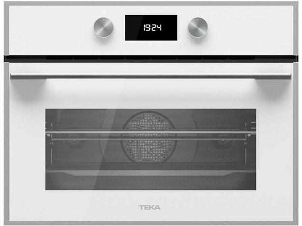 Oferta de Horno Microondas TEKA HLC 844 C (40 L - 59.5 cm - Hidrolítico - Blanco) por 600,79€
