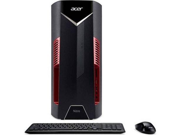 Oferta de PC Gaming ACER Nitro 50 - N50-600 - DG.E0HEB.021 (Caja Abierta - Intel Core i5-8400 - RAM: 8 GB - 1 TB HDD + 256 GB SSD - NVIDIA GeForce GTX 1050) por 872,17€