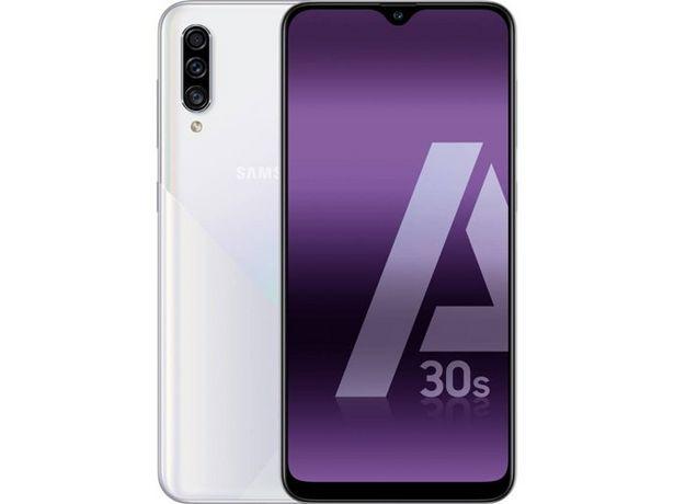Oferta de Smartphone SAMSUNG Galaxy A30s (6.4'' - 4 GB - 64 GB - Blanco) por 195,99€