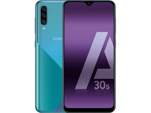 Oferta de Smartphone SAMSUNG Galaxy A30s (6.4'' - 4 GB - 64 GB - Verde) por 195,99€