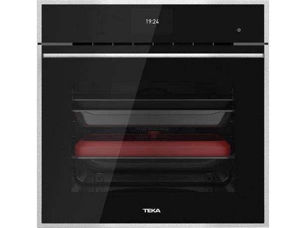 Oferta de Horno TEKA Ioven P (70 L - 59.5 cm - Hidro y Pirolítico - Negro) por 1040€
