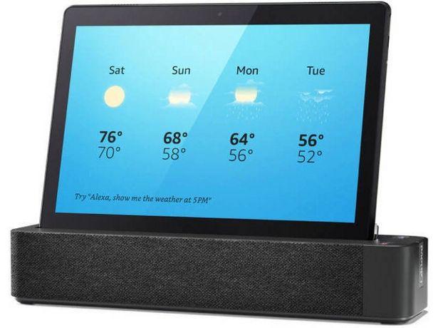Oferta de Tablet LENOVO Smart Tab M10 (Caja Abierta - 10.1'' - 32 GB - 3 GB RAM - Wi-Fi - Negro) por 170,17€
