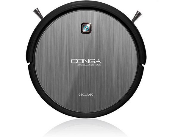 Oferta de Aspirador Robot CECOTEC Conga Excellence 990 Gris (Caja Abierta - Autonomía: 160 min) por 359,07€