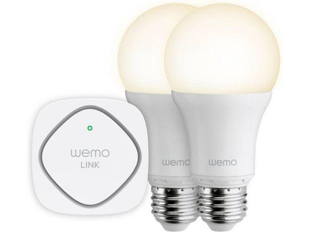 Oferta de Pack 2 Bombillas LED Smart WeMo BELKIN (Caja Abierta) por 55,97€