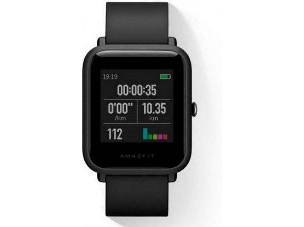 Oferta de Smartwatch Reacondicionado AMAZFIT Bip Negro (Grado C) por 55,97€