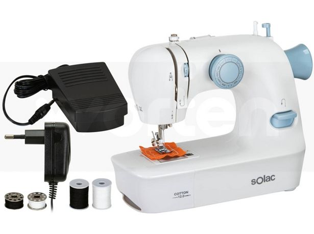 Oferta de Máquina de Coser SOLAC Cotton 12.0 SW8220 (Caja Abierta - 12 puntos) por 71,97€