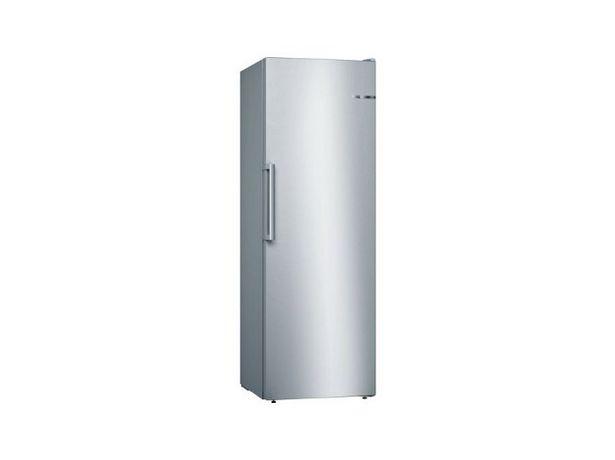 Oferta de Congelador Vertical BOSCH GSN33VL3P (No Frost - 176 cm - 225 L - Inox) por 863,99€
