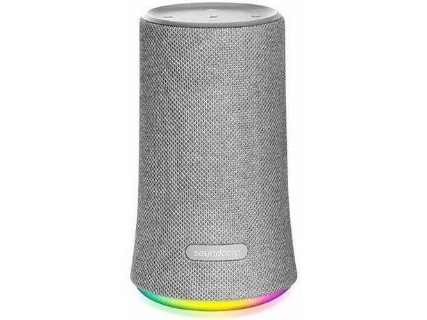 Oferta de Altavoz Bluetooth ANKER Soundcore Flare (Gris - 12 W - Autonomia: hasta 12 h - Alcance: hasta 20 m) por 49,99€