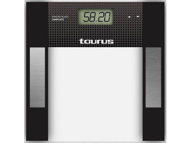 Oferta de Báscula Digital TAURUS Glass Complet ( Caja Abierta - Peso maximo 150 kg) por 21,57€