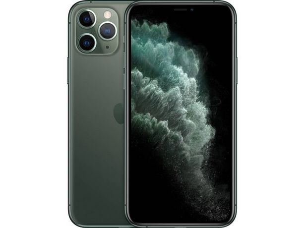 Oferta de IPhone 11 Pro APPLE (5.8'' - 256 GB - Verde media noche) por 1229€