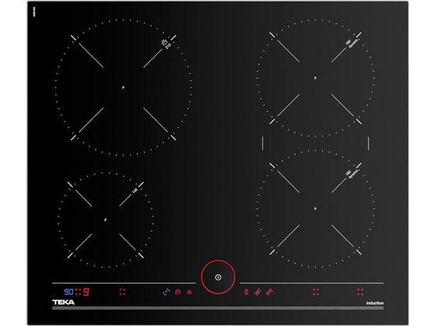 Oferta de Placa de Inducción TEKA IT 6450 (Eléctrica - 60.5 cm - Negro) por 479,99€