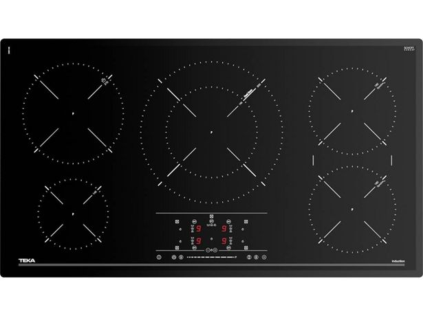 Oferta de Placa de Vitrocerámica TEKA IR 9530 (Eléctrica - 90 cm - Negro) por 703,99€
