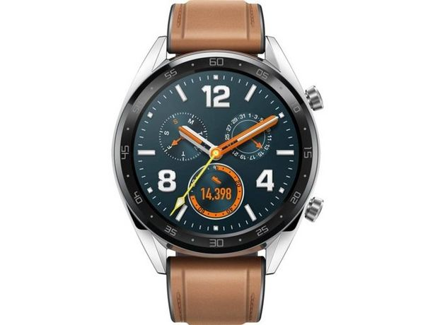 Oferta de Smartwatch HUAWEI GT Fashion marrón por 99,99€