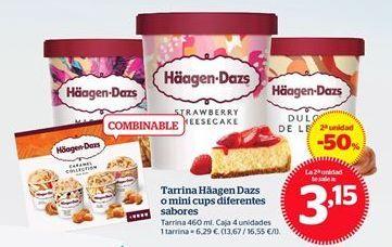 Oferta de Tarrina de helado Häagen-Dazs por 6,29€
