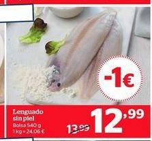 Oferta de Lenguado por 12,99€