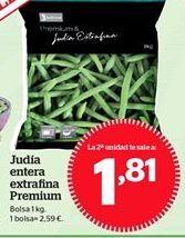 Oferta de Judías verdes congeladas por 2,59€